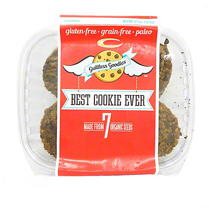 Guiltless Superfoods Dark Chocolate Chip Cookies, 11 oz